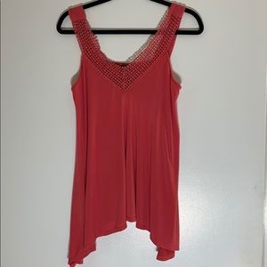 TORRID Tank shirt Size 0 Salmon color